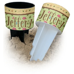 Summer Camping Beach Spiker Drink Holder (Personalized)
