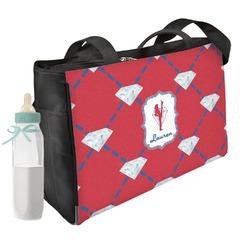 Red Diamond Dancers Diaper Bag (Personalized)