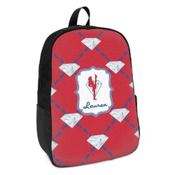 Red Diamond Dancers Kids Backpack (Personalized)