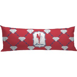 Red Diamond Dancers Body Pillow Case (Personalized)