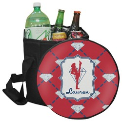 Red Diamond Dancers Collapsible Cooler & Seat (Personalized)