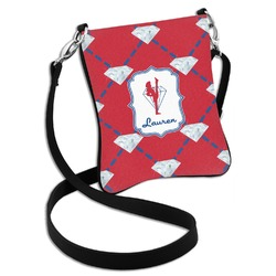Red Diamond Dancers Cross Body Bag - 2 Sizes (Personalized)