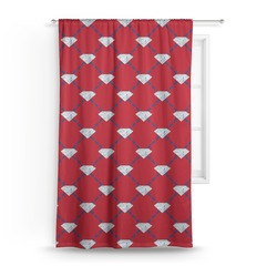 Red Diamond Dancers Curtain (Personalized)