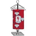 Red Diamond Dancers Finger Tip Towel - Full Print (Personalized)