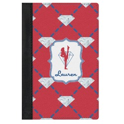 Red Diamond Dancers Genuine Leather Passport Cover (Personalized)