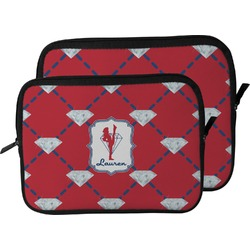 Red Diamond Dancers Laptop Sleeve / Case (Personalized)