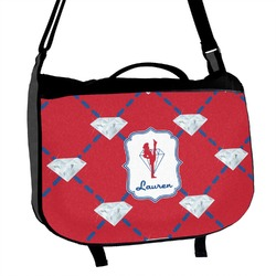Red Diamond Dancers Messenger Bag (Personalized)