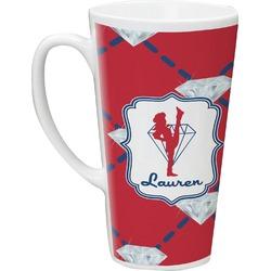 Red Diamond Dancers Latte Mug (Personalized)