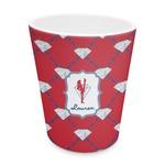 Red Diamond Dancers Plastic Tumbler 6oz (Personalized)