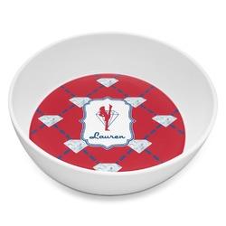 Red Diamond Dancers Melamine Bowl 8oz (Personalized)