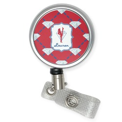 Red Diamond Dancers Retractable Badge Reel (Personalized)