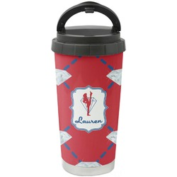 Red Diamond Dancers Stainless Steel Travel Mug (Personalized)