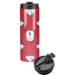 Red Diamond Dancers Stainless Steel Tumbler (Personalized)