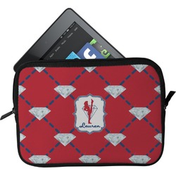Red Diamond Dancers Tablet Case / Sleeve (Personalized)