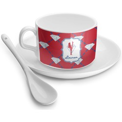 Red Diamond Dancers Tea Cup - Single (Personalized)