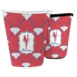 Red Diamond Dancers Waste Basket (Personalized)