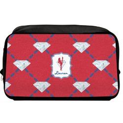 Red Diamond Dancers Toiletry Bag / Dopp Kit (Personalized)