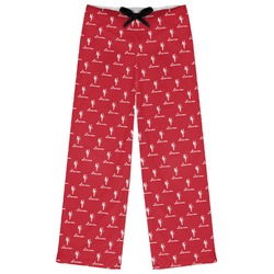Red Diamond Dancers Womens Pajama Pants (Personalized)