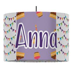 Happy Birthday Drum Pendant Lamp (Personalized)