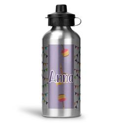 Happy Birthday Water Bottle - Aluminum - 20 oz (Personalized)
