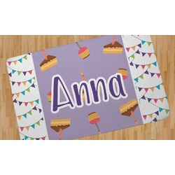 Happy Birthday Area Rug (Personalized)