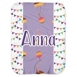 Happy Birthday Baby Swaddling Blanket (Personalized)
