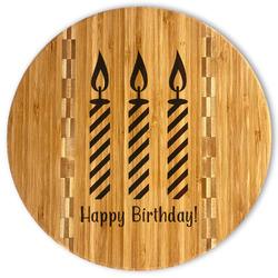 Happy Birthday Bamboo Cutting Board (Personalized)