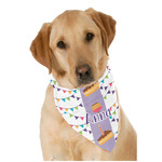 Happy Birthday Dog Bandana Scarf w/ Name or Text