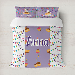 Happy Birthday Duvet Cover (Personalized)