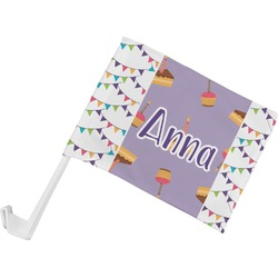 Happy Birthday Car Flag (Personalized)