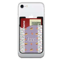 Happy Birthday 2-in-1 Cell Phone Credit Card Holder & Screen Cleaner (Personalized)