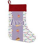 Happy Birthday Holiday Stocking w/ Name or Text