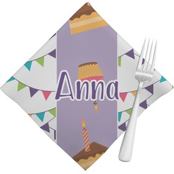 Happy Birthday Napkins (Set of 4) (Personalized)