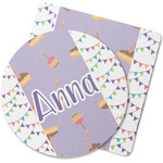 Happy Birthday Rubber Backed Coaster (Personalized)