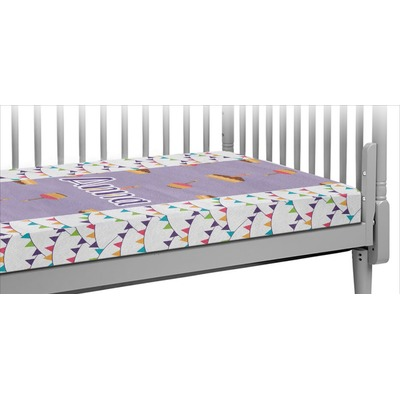 Happy Birthday Crib Fitted Sheet (Personalized)