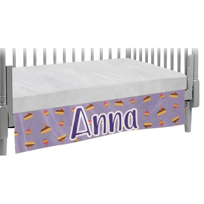Happy Birthday Crib Skirt (Personalized)