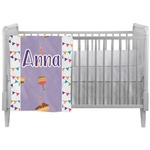 Happy Birthday Crib Comforter / Quilt (Personalized)