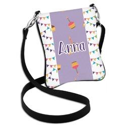 Happy Birthday Cross Body Bag - 2 Sizes (Personalized)