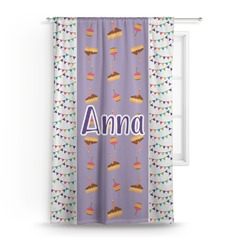 Happy Birthday Curtain (Personalized)