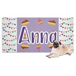 Happy Birthday Pet Towel (Personalized)