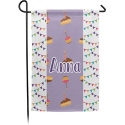 Happy Birthday Garden Flag - Single or Double Sided (Personalized)