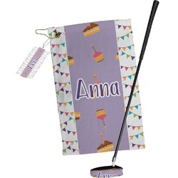 Happy Birthday Golf Towel Gift Set (Personalized)