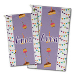 Happy Birthday Golf Towel - Full Print w/ Name or Text