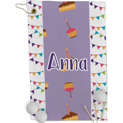 Happy Birthday Golf Towel - Full Print (Personalized)