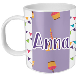 Happy Birthday Plastic Kids Mug (Personalized)