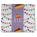 Happy Birthday Kitchen Towel - Full Print (Personalized)