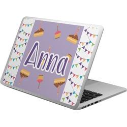 Happy Birthday Laptop Skin - Custom Sized (Personalized)