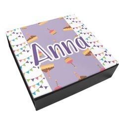 Happy Birthday Leatherette Keepsake Box - 3 Sizes (Personalized)