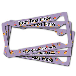 Happy Birthday License Plate Frame (Personalized)