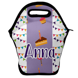Happy Birthday Lunch Bag w/ Name or Text